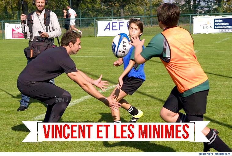 ||| Vincent avec les minimes de Suresnes