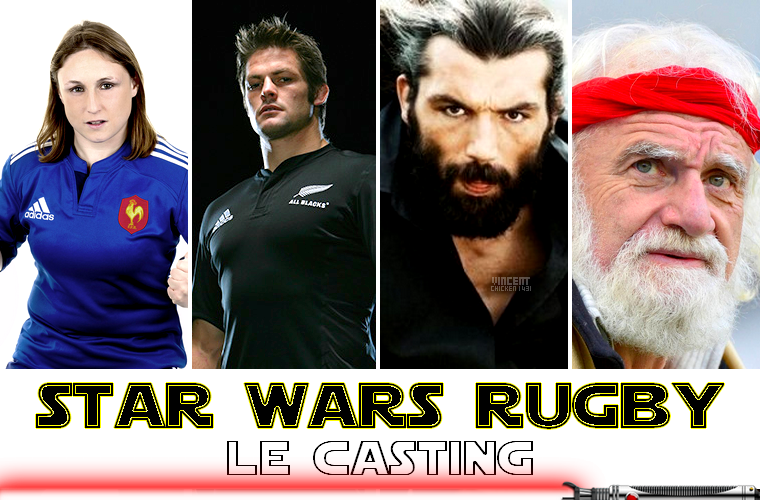 ||| HUMOUR > Star Wars, la saga 100% Rugby