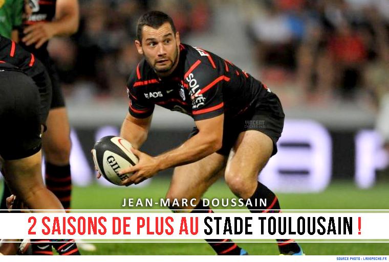 ||| J-M. Doussain reste au Stade Toulousain !