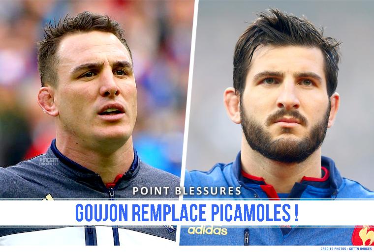 ||| XV DE FRANCE > Tournoi terminé pour L. Picamoles