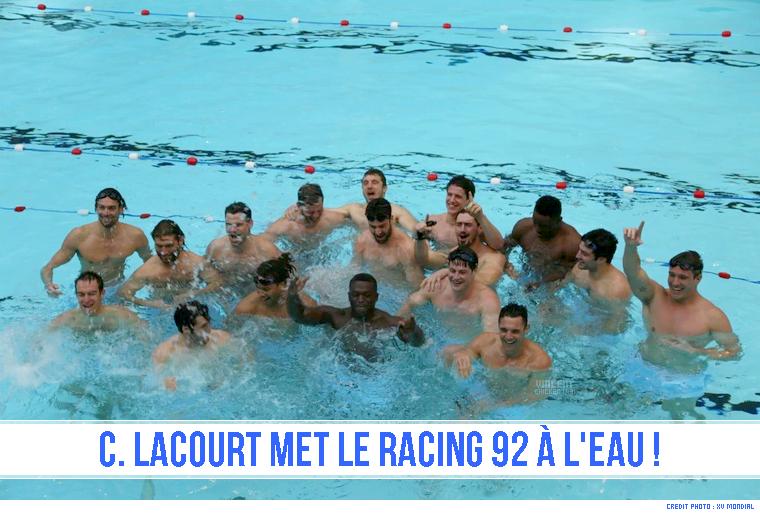||| VIDÉO > La Racing 92 change de terrain ...