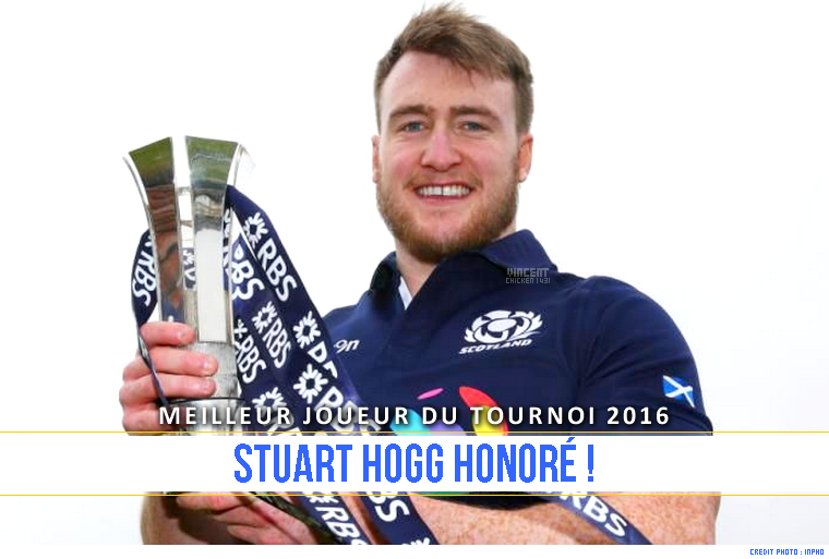 ||| Joueur du Tournoi 2016 > S. Hogg récompensé !