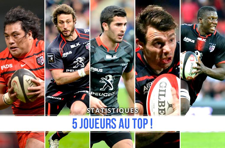 ||| 5 joueurs au Top 3 de leur poste respectifs !