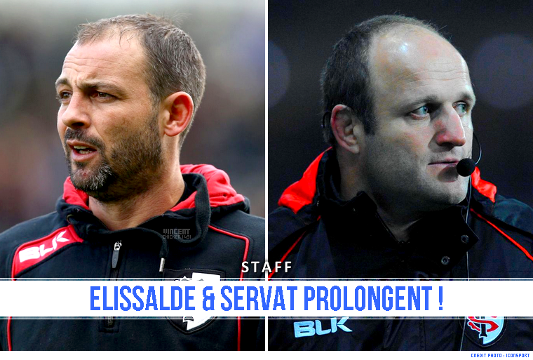 ||| STAFF > Prolongation de Servat & Elissalde !