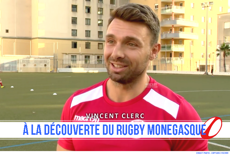 ||| Vincent Clerc, coach des petits monegasques...