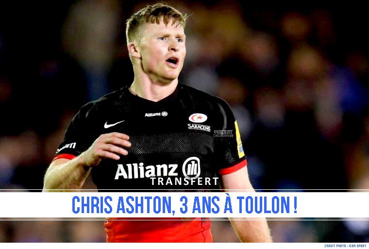 ||| TRANSFERT > Chris Ashton au RCT la saison prochaine !