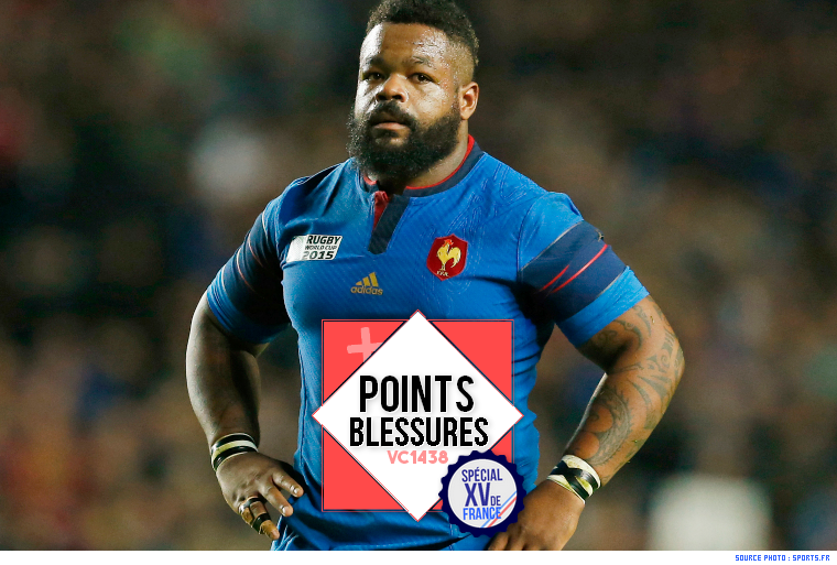 ||| 6 NATIONS 2017 > M. Bastareaud remplace W. Fofana !
