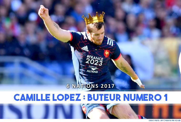 ||| 6 NATIONS 2017 > C. Lopez, meilleur buteur !