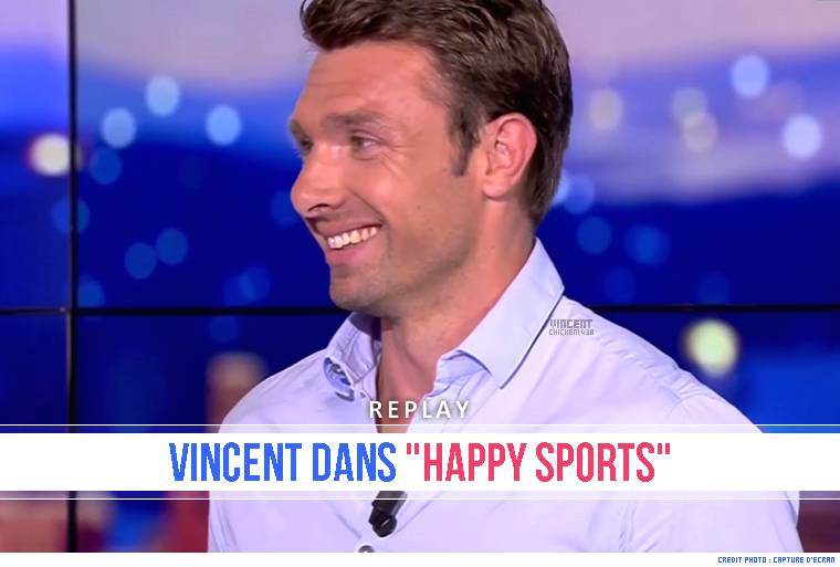 "||| Vincent Clerc dans le ""Happy Sports"" du 01/06/17"