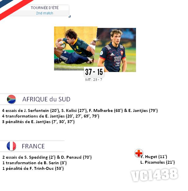 ||| TOURNÉE D'ÉTÉ 2017 > Afrique su Sud / France (2nd match)