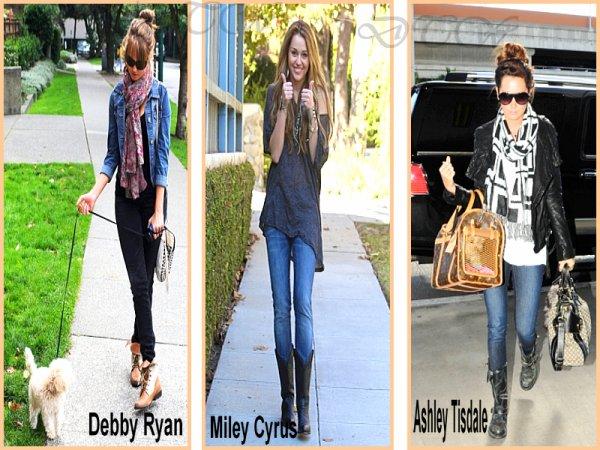 Top de la semaine  [28.11.2010].Ash' , Debb' ou Mil' , quelle tenu preferes-tu ?... Moi j'aime beaucoup celle de Debby (oui je sais la tenue de Debby ne date pas de cette semaine mais j'ai un vrais coup de coeur)...