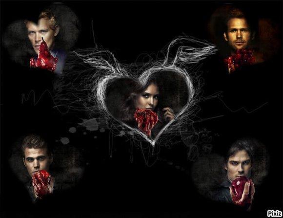 """Bienvenue Sur ton Blog Sur """" The Vampire Diaries """""""