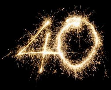 40 ans, voila un drôle d'anniversaire..on peut dire j'ai deux fois 20 ans?