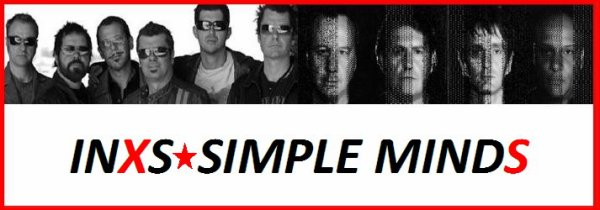 INXS - SIMPLE MINDS
