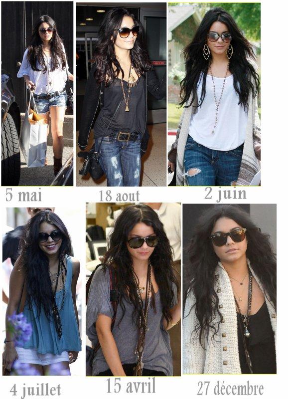 Vanessa et ses lunettes de soleil