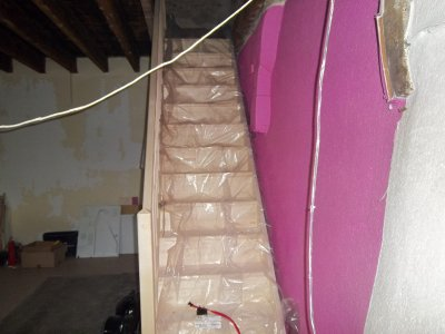 pose de l escalier
