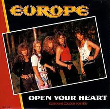 Europe / Europe-Open Your Heart (1993)