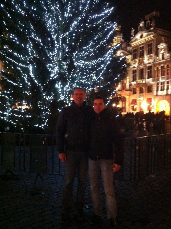 Marché de Noël Grand Place Bruxelles
