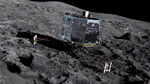 Mission Rosetta : Philae s'est posé sur la comète Tchouri
