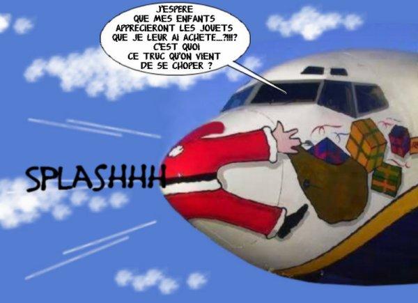 Tu connais l'histoire du Père Noël qui fait Splashhh ?!