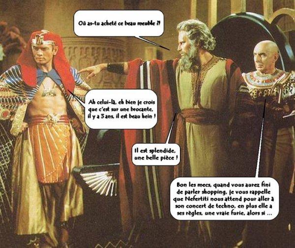 L'Histoire revisitée par Moïse