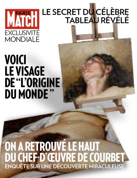 """Spécial """"L'ORIGINE DU MONDE DE COURBET"""" - Image n° 1/3 !..."""
