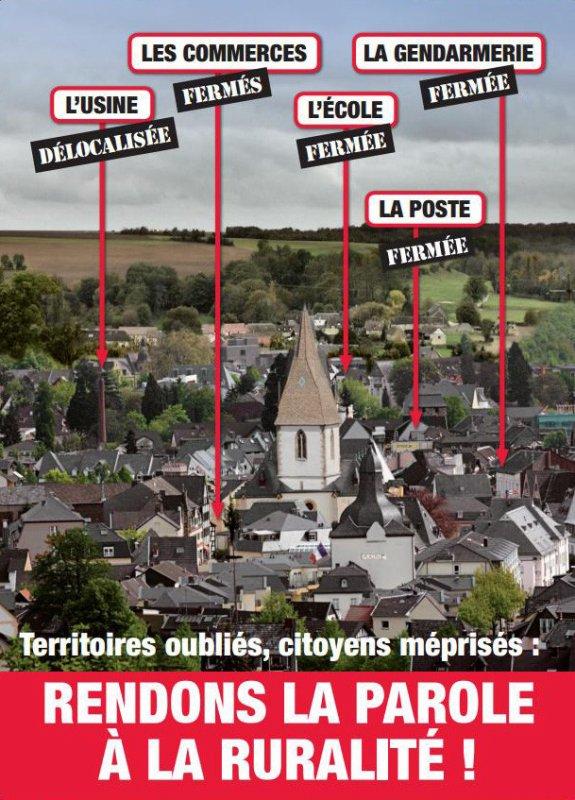 """Spécial """"LE FN UTILISE UNE PHOTO D'UN VILLAGE ALLEMAND POUR DÉFENDRE LES TERRITOIRES RURAUX"""" - Image n° 2/2 !..."""