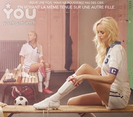 """Spécial """"Le sport féminin ne peut-il être médiatisé que par le glamour"""" - Image n° 1/6 ?..."""