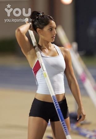 """Spécial """"Le sport féminin ne peut-il être médiatisé que par le glamour"""" - Image n° 6/6 ?..."""