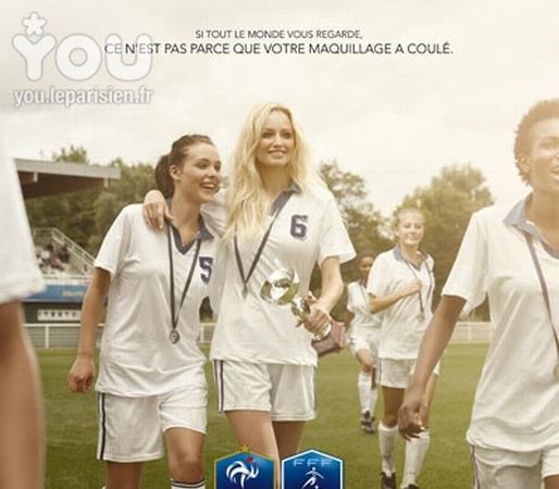 """Spécial """"Le sport féminin ne peut-il être médiatisé que par le glamour"""" - Image n° 2/6 ?..."""