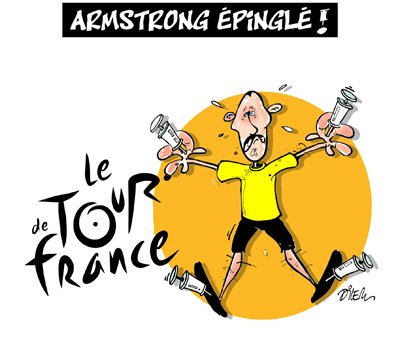 "Spécial ""LANCE AMSTRONG"" !..."