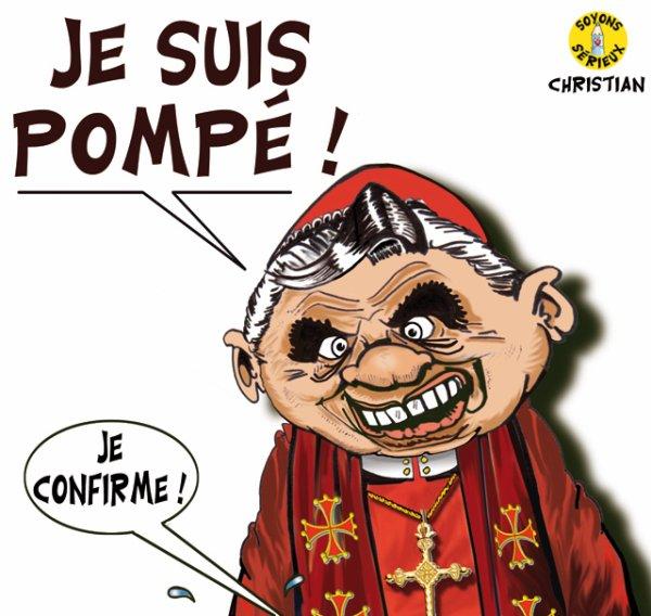 """Spécial """"LE PAPE BENOÎT XVI SOUPAPES DÉMISSIONNE"""" - Image n° 1/8 !..."""