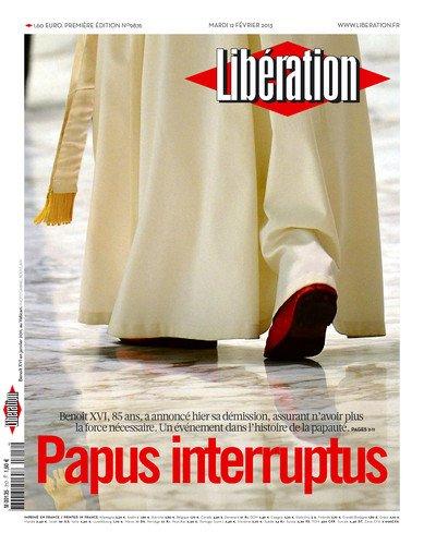 """Spécial """"LE PAPE BENOÎT XVI SOUPAPES DÉMISSIONNE"""" !..."""