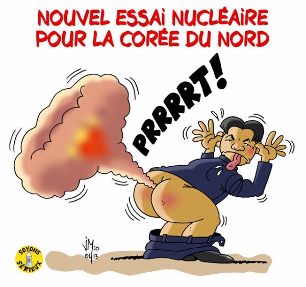 Nouvel essai nucléaire nord-coréen !...