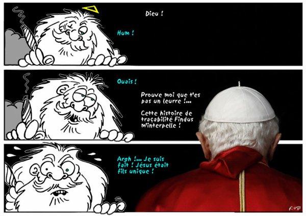 """Spécial """"LE PAPE BENOÎT XVI SOUPAPES DÉMISSIONNE"""" - Image n° 3/4 !..."""