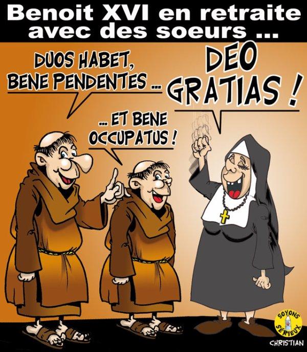 """Spécial """"LE PAPE BENOÎT XVI SOUPAPES DÉMISSIONNE"""" - Image n° 2/4 !..."""