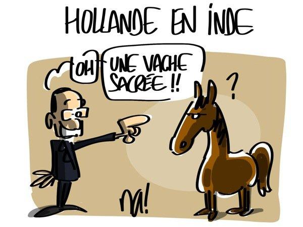 """Spécial """"HOLLANDE, EN VOYAGE EN INDE"""" !..."""