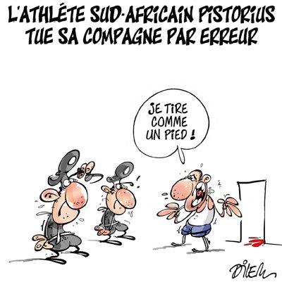 """Spécial """"LE DRAME D'OSCAR PISTORIUS"""" - Image n° 1/6 !..."""
