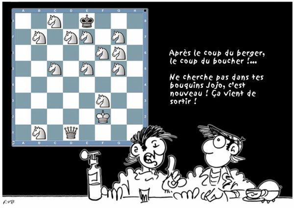 LE NOUVEAU JEU D'ÉCHECS !...
