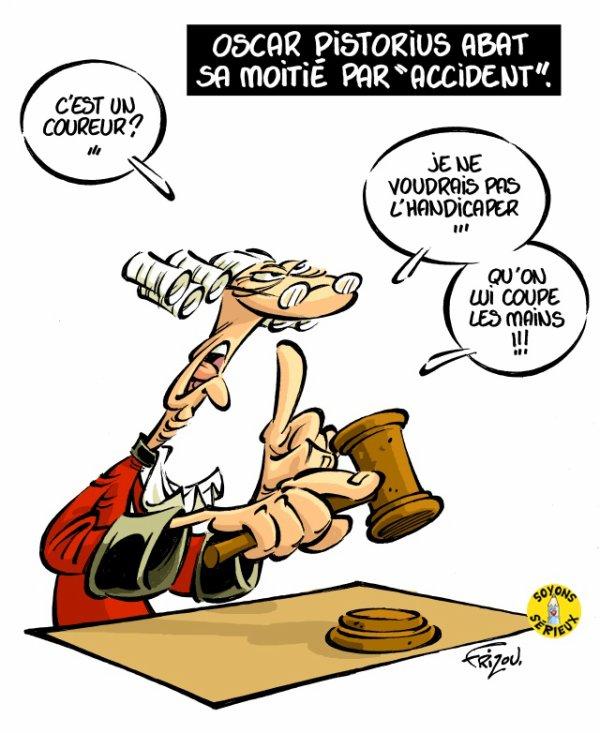 """Spécial """"LE DRAME D'OSCAR PISTORIUS"""" - Image n° 5/6 !..."""