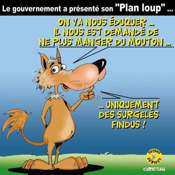 Le loup et l'agneau… Le gouvernement statue sur la « cohabitation » !...