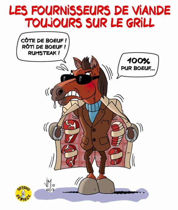 Viande de cheval : les fournisseurs de viande montrés du doigt !...