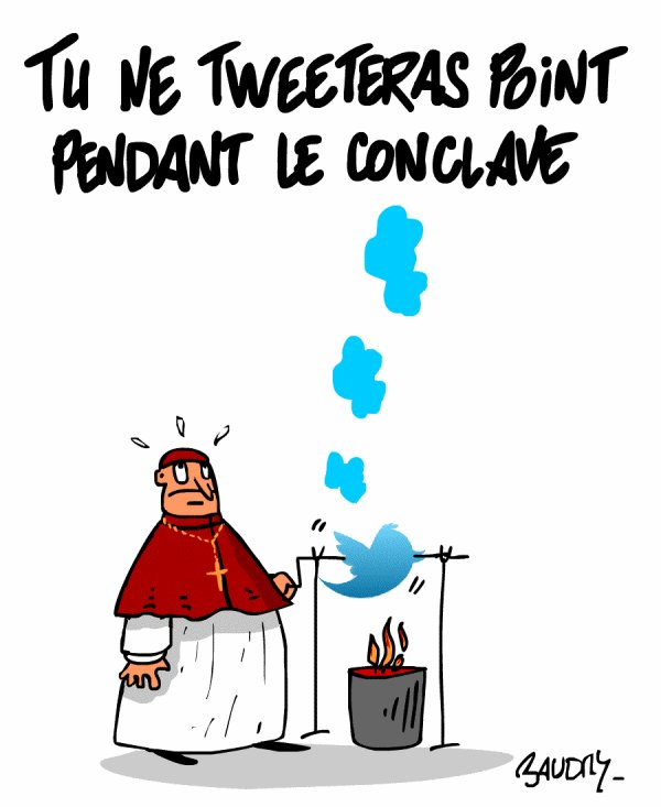 """Spécial """"ÉLECTION DU NOUVEAU PAPE, EN CONCLAVE"""" !..."""