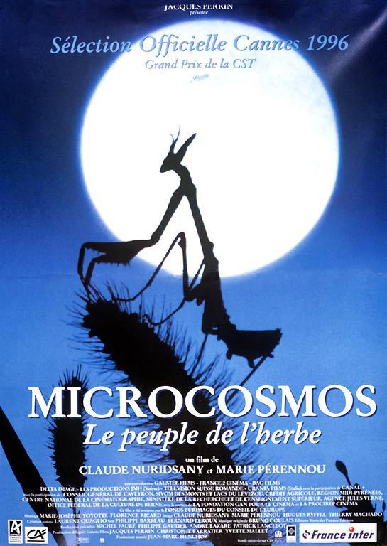 """Spécial """"MICROCOSMOS"""" - Affiche n° 1/4 !..."""