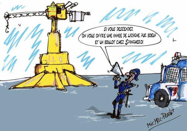 """Spécial """"LA FAMEUSE GRUE DE NANTES & SES PARODIES"""" - Image n° 3/5 !..."""