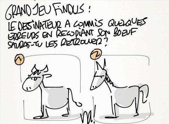 """Spécial """"UN FLORILÈGE DES PARODIES RELATIVES AU SCANDALE DE LA VIANDE DE CHEVAL DANS LES LASAGNES"""" - Image n° 3/8 !..."""