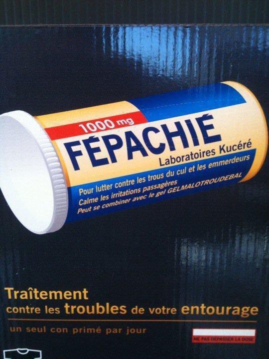 """Spécial """"MÉDICAMENTS FABRIQUÉS PAT LES LABORATOIRES SERVIER""""  - Image n° 2/2 !..."""