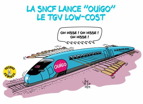 Le TGV low-cost « OUIGO » lancé par la SNCF !...