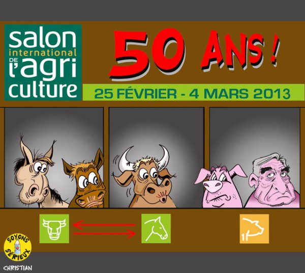 Un Salon de l'Agriculture « Made in France » !...