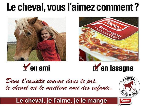 """Spécial """"FINDUS & LA VIANDE DE CHEVAL - Photo n° 01/12 """" !..."""